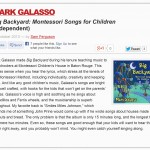 Mark Galasso Big Backyard Montessori Songs for Children (Album Review)-1 copy