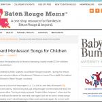 Batonrougemoms.com Big Backyard Post Front Page